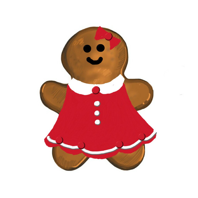#FreeToEdit  #gingerbread  #cookies  #red   #christmas  Thanks @pa for featuring this image in Smash Hits