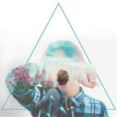 freetoedit triangle mystery doubleeposure editting