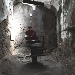 easternstatepenitentiary barberchair dark scary alcapone