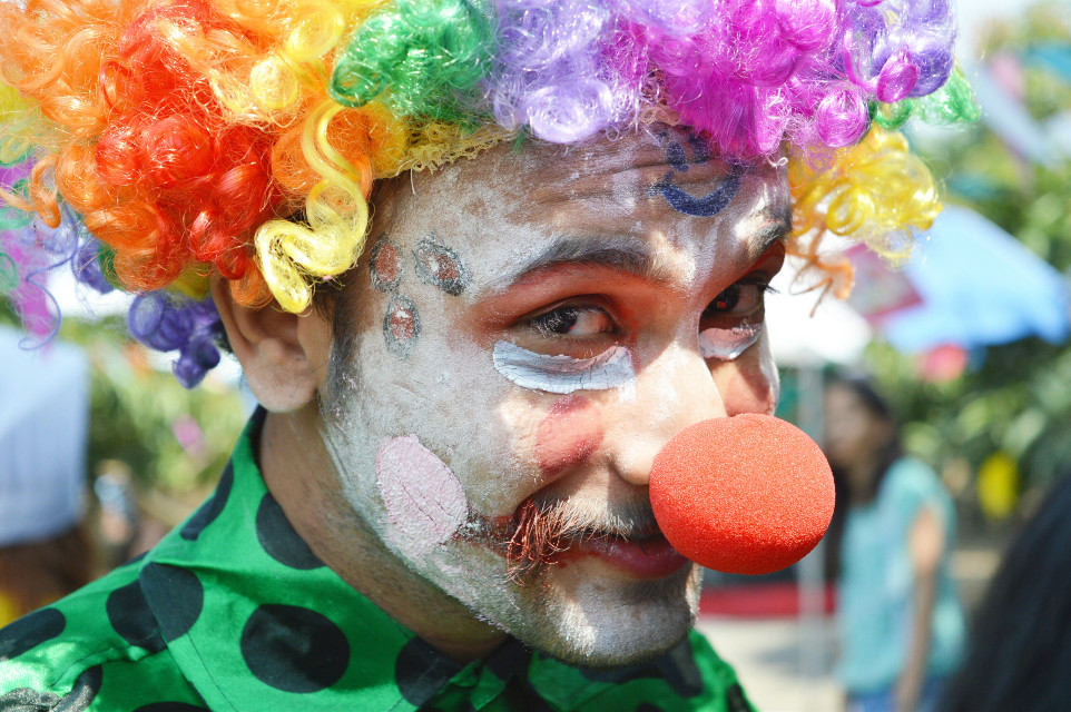 #joker #festival #funny #colorful #candid #portrait