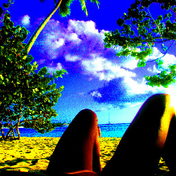 travel holidays caribe color freetoedit