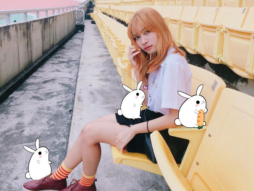 #FreeToEdit  #cute #people #photography #edited #remixed #creative #clipart #sweet #nice #rabbit #girl @freetoedit  @pa @orayass