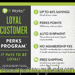 itworks itworksloyalcustomer itworksglobal itworkswraps itworksgreens
