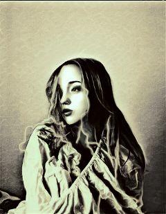 beautiful portrait drama eyes freetoedit