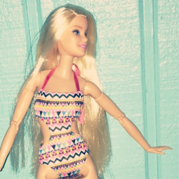 dolls barbiedolls beach