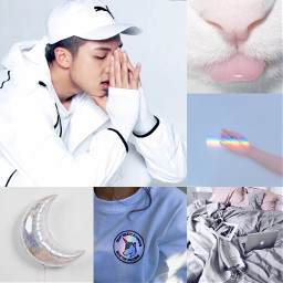 rapmonster namjoon white bts aesthetic freetoedit