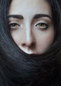 beautiful portraitgirl eyes girl hair