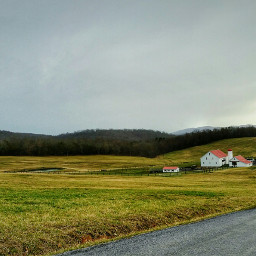 freetoedit landscape horsestables fields springsky
