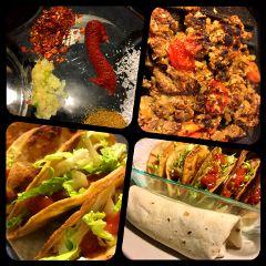 freetoedit homemadefood tacos burrito combo