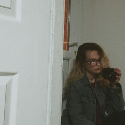 freetoedit girl camera self remix