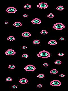 ftestickers eyes